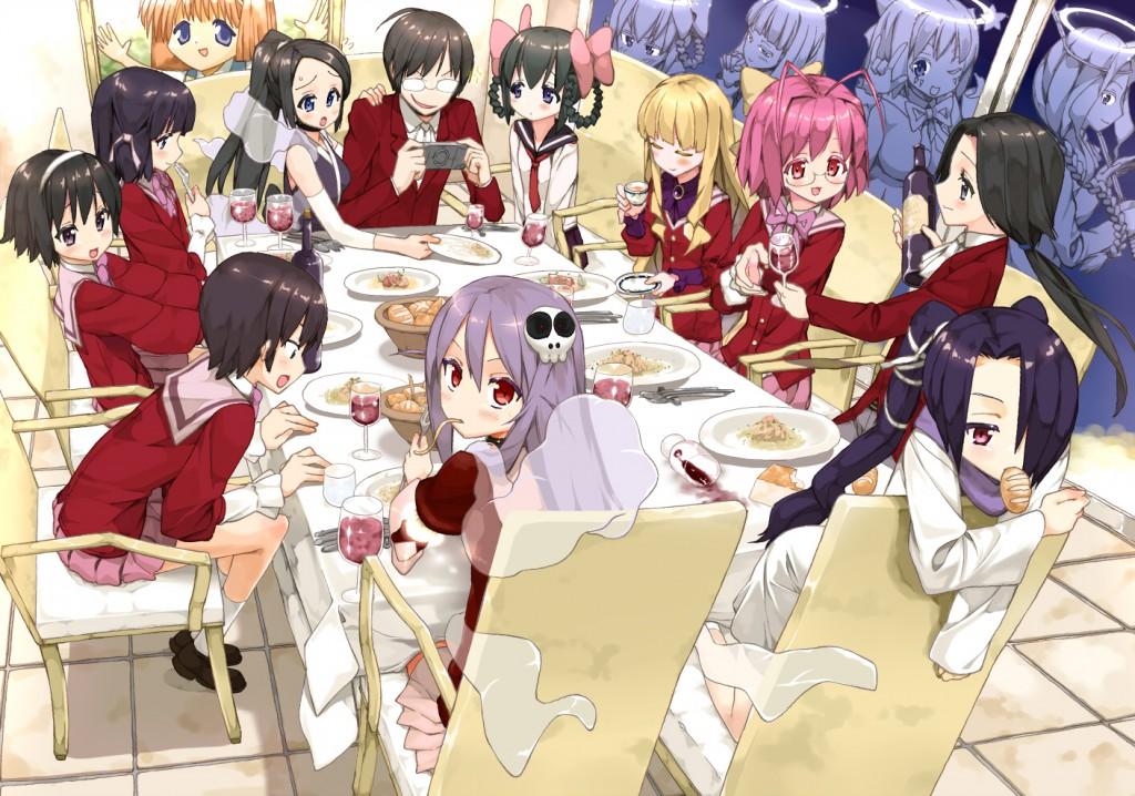 Kami nomi zo Shiru Sekai Megami-hen The World God Only Knows Season 3 S3 Anime