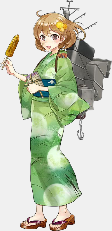 KanColle Browser Game Fall art Ayanami Class Destroyer Oboro 1