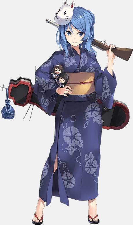 KanColle Browser Game Fall art Kagerou Class Destroyer Urakaze 1