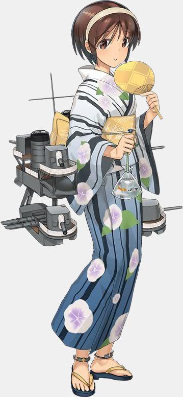 KanColle Browser Game Fall art Nagara Class Light Cruiser Natori  1