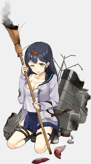 KanColle Browser Game Hosts Fall Mini-Event Ayanami Class Destroyer Ushio 2