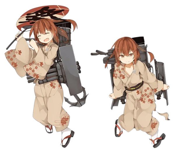 KanColle Browser Game Introduces Fall Yukata Art 1