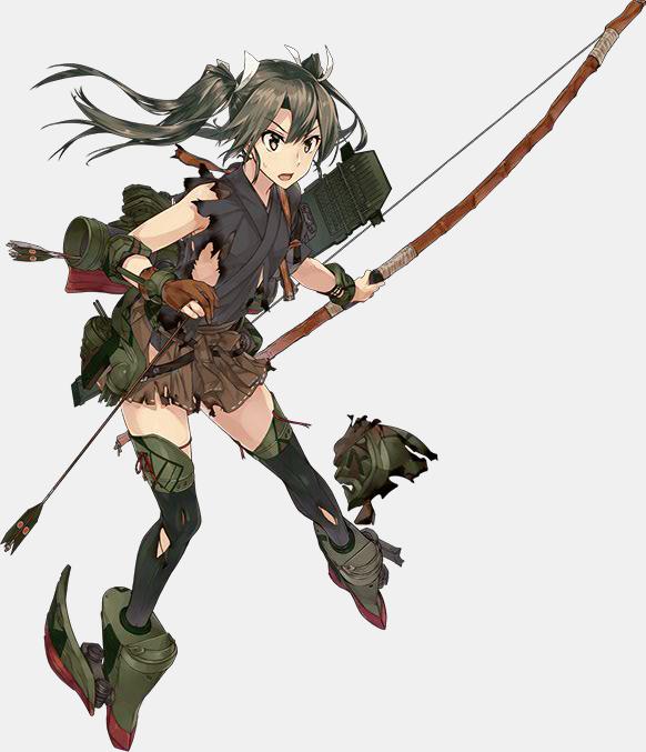 KanColle Browser Game Introduces Halloween CG Shoukaku Class Standard Carrier Zuikaku Second Update 2