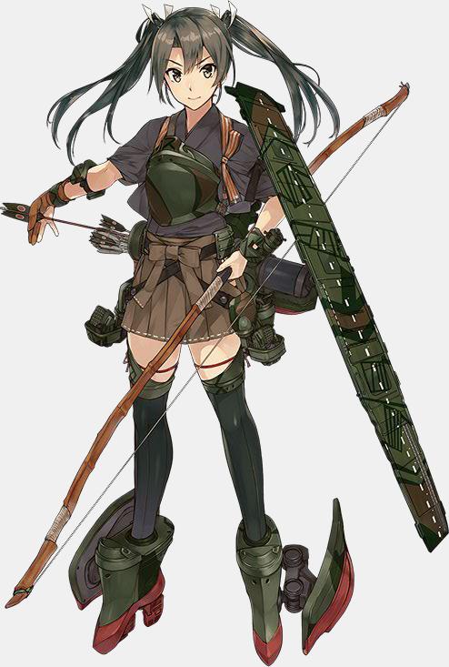KanColle Browser Game Introduces Halloween CG Shoukaku Class Standard Carrier Zuikaku Second Update