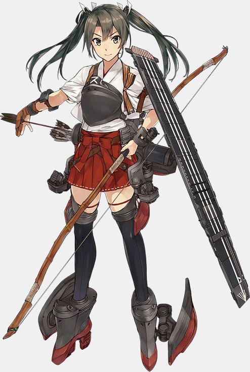 KanColle Browser Game Introduces Halloween CG Shoukaku Class Standard Carrier Zuikaku Third Update
