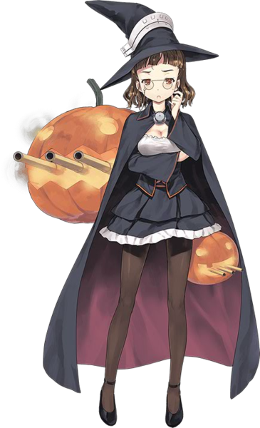 KanColle Browser Game Introduces Halloween CG Vittorio Veneto Class Fast Battleship Roma Halloween 2015