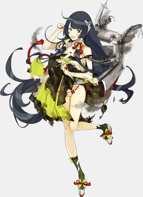 KanColle Browser Game Wraps up the Summer Event Mizuho Class Seaplane Tender Mizuho (designed by Akira) 2