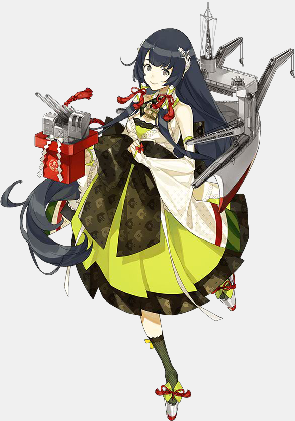 KanColle Browser Game Wraps up the Summer Event Mizuho Class Seaplane Tender Mizuho (designed by Akira)