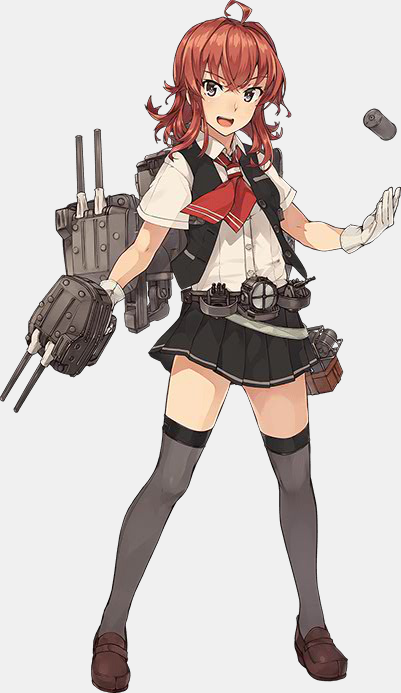 KanColle Fall 2015 Event Introduces New Ship Girls Kagerou Class Destroyer Arashi 1
