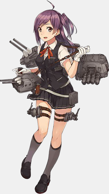 KanColle Fall 2015 Event Introduces New Ship Girls Kagerou Class Destroyer Hagikaze 1