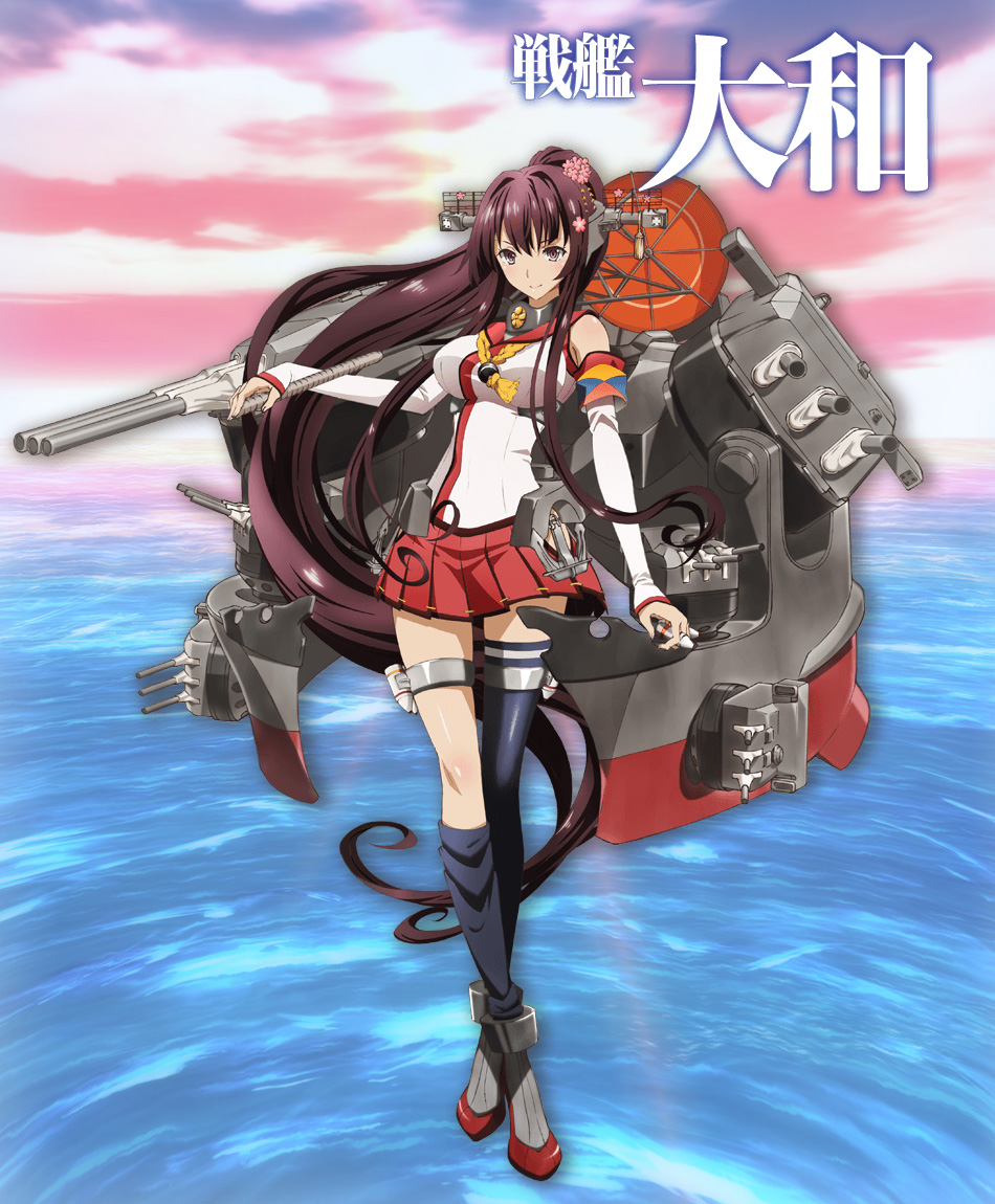 Kantai-Collection-Kan-Colle-Anime-Character-Designs-Senkan-Yamato_Haruhichan.com