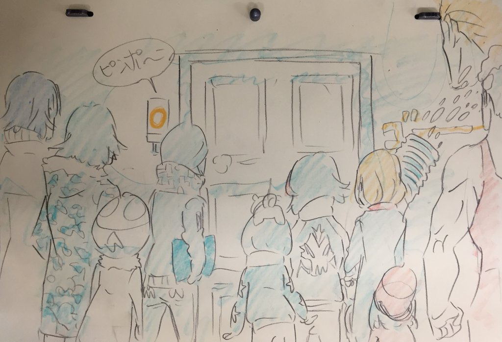 Kill La Kill Character Designer Sushio shares christmas sketches 10