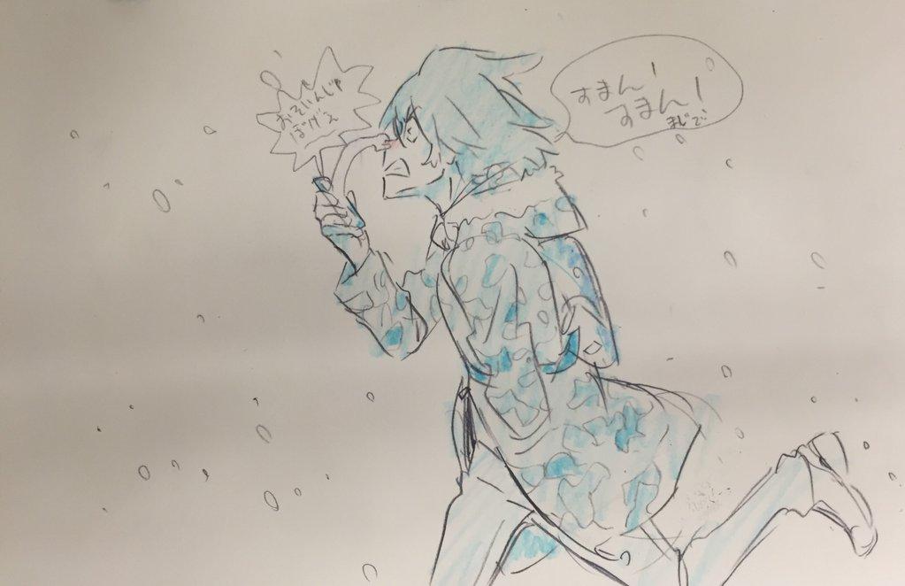 Kill La Kill Character Designer Sushio shares christmas sketches 4