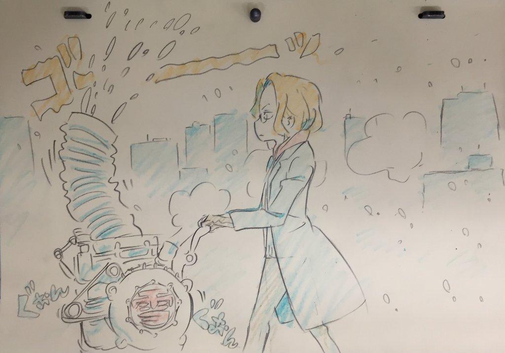 Kill La Kill Character Designer Sushio shares christmas sketches 5