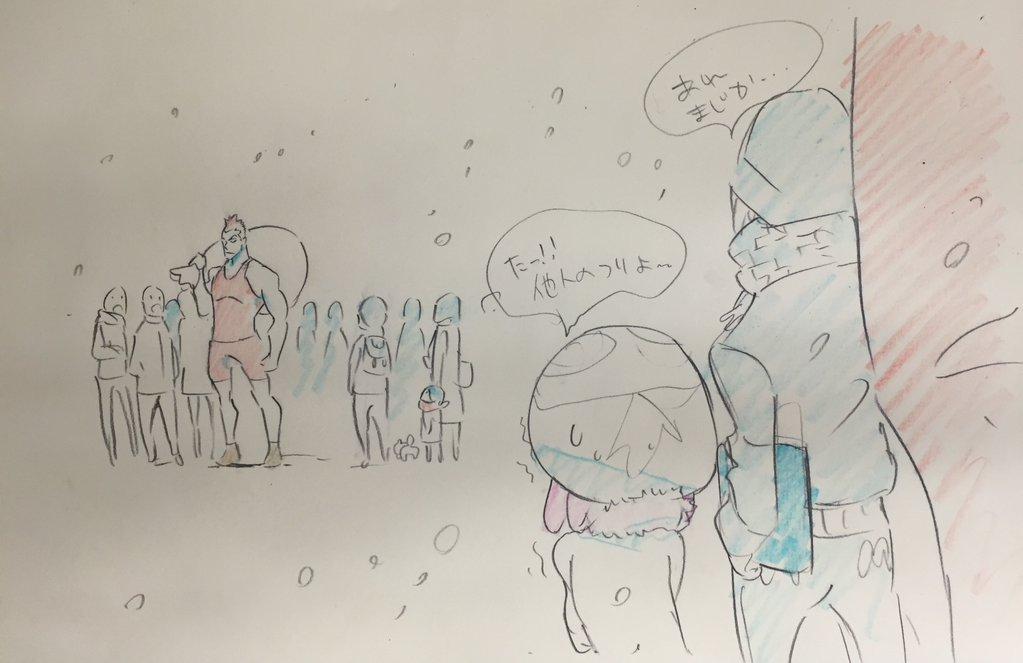 Kill La Kill Character Designer Sushio shares christmas sketches 6