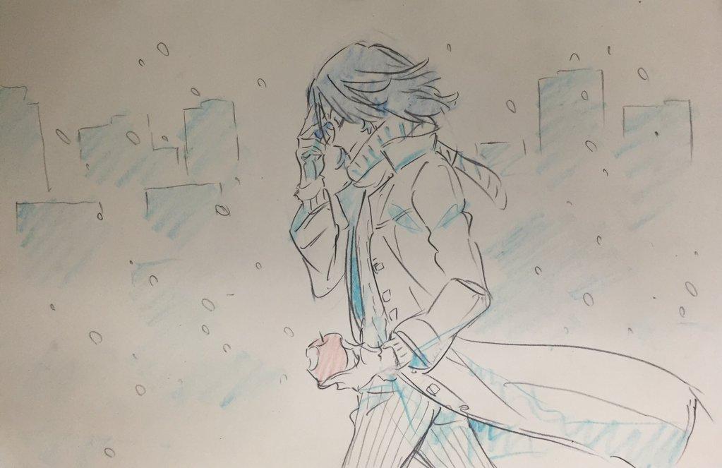 Kill La Kill Character Designer Sushio shares christmas sketches 7