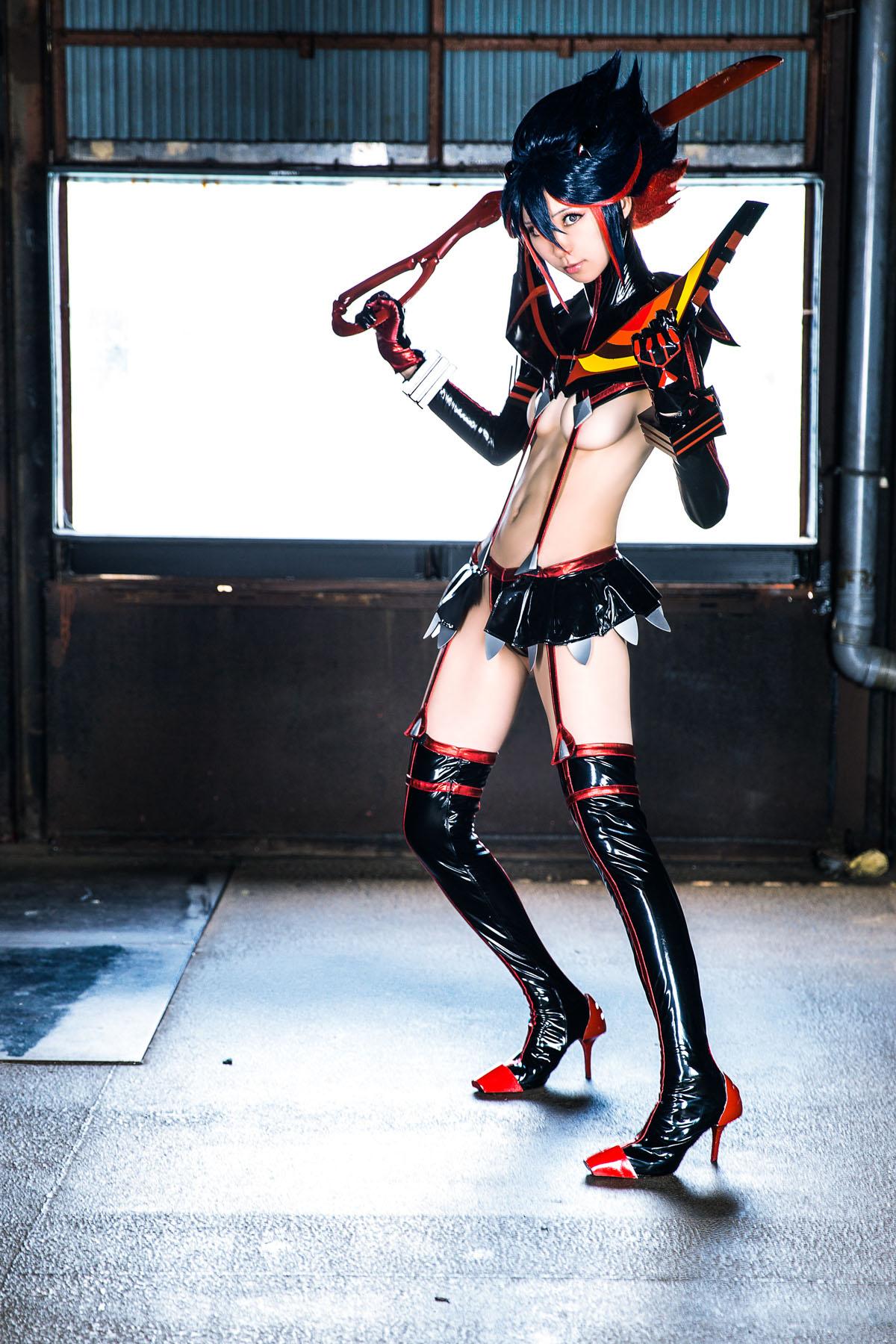 Kill la Kill Ryuuko Matoi anime cosplay by Mikehouse 0001