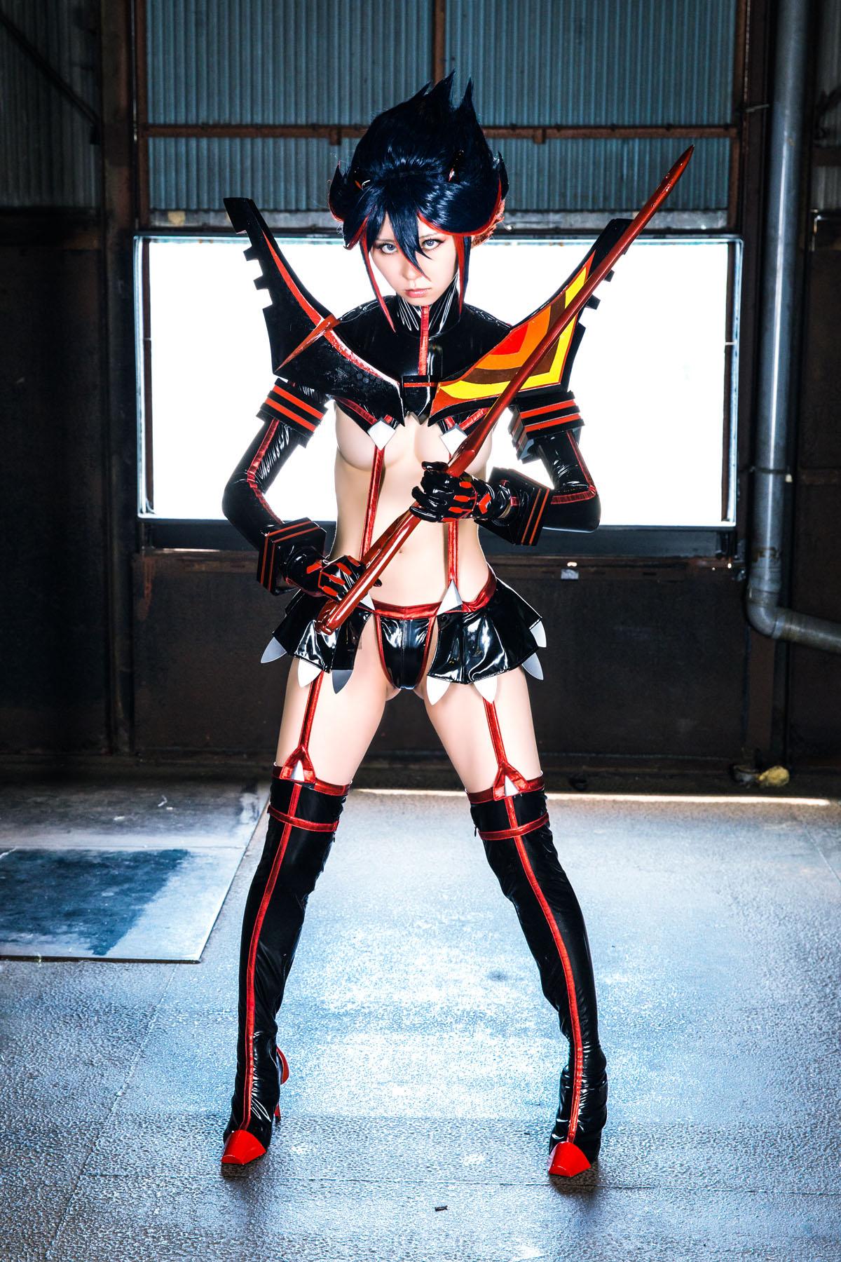 Kill la Kill Ryuuko Matoi anime cosplay by Mikehouse 0003