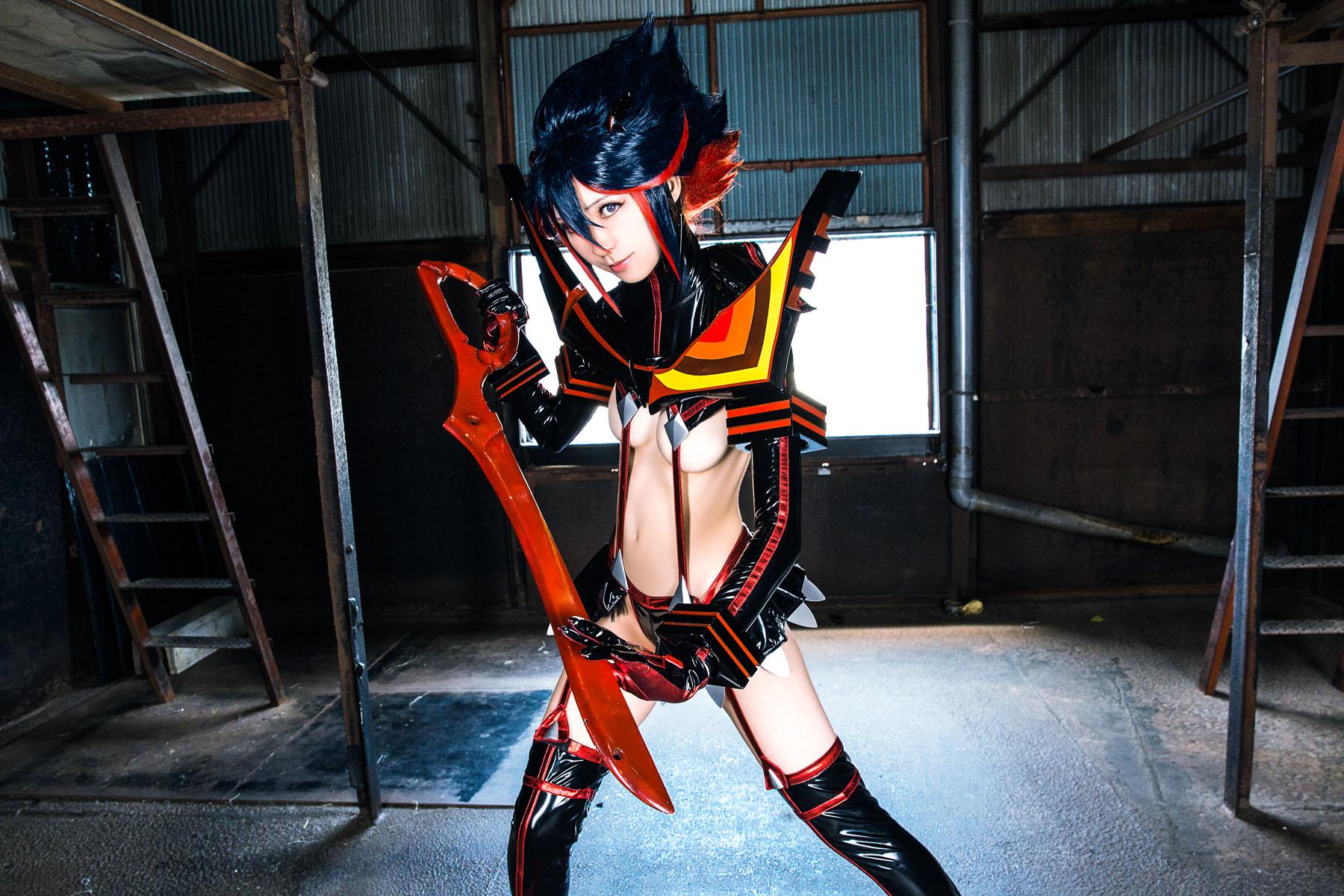 Kill la Kill Ryuuko Matoi anime cosplay by Mikehouse 0005