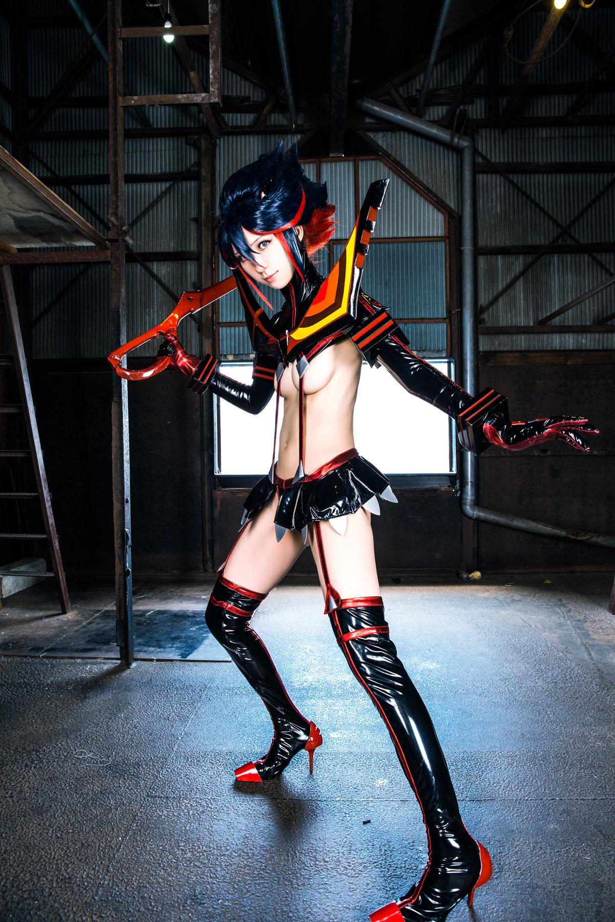 Kill la Kill Ryuuko Matoi anime cosplay by Mikehouse 0006