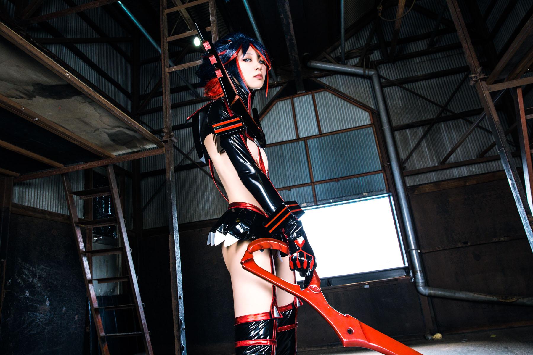 Kill la Kill Ryuuko Matoi anime cosplay by Mikehouse 0009