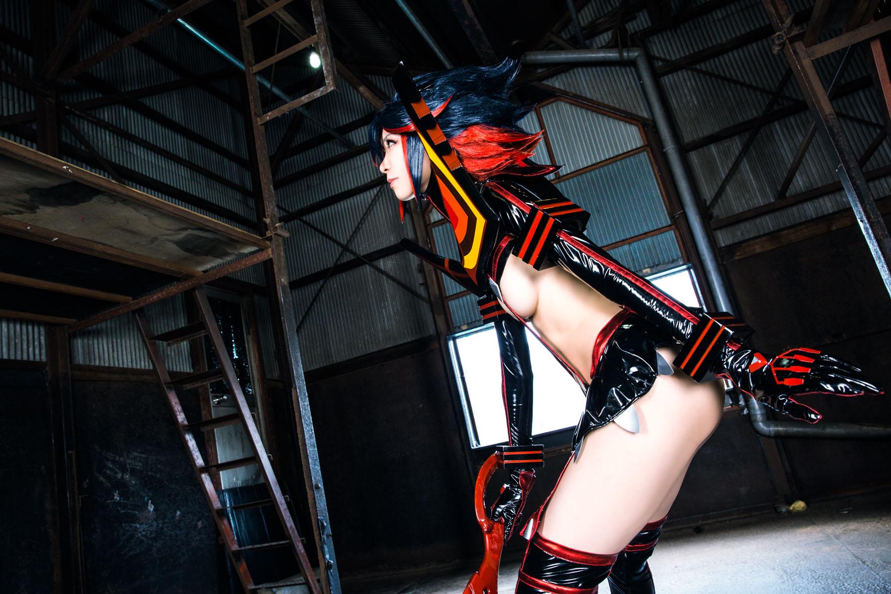 Kill la Kill Ryuuko Matoi anime cosplay by Mikehouse 0010