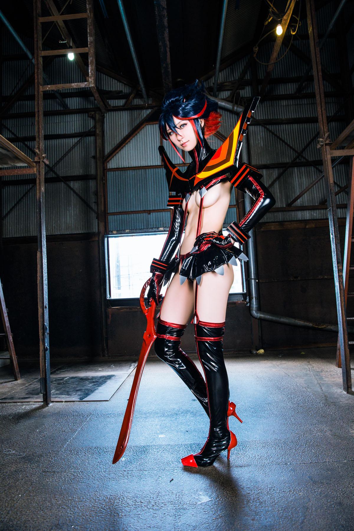 Kill la Kill Ryuuko Matoi anime cosplay by Mikehouse 0011
