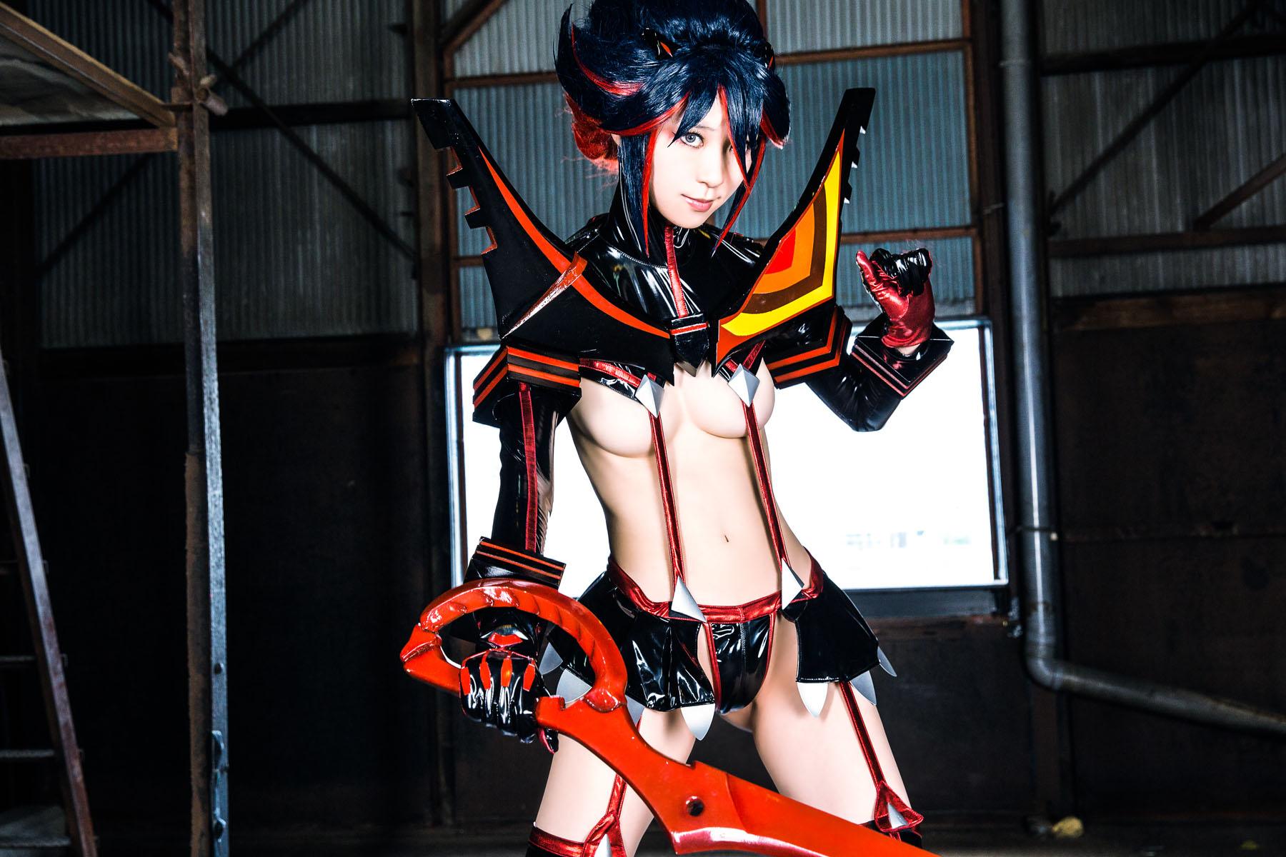 Kill la Kill Ryuuko Matoi anime cosplay by Mikehouse 0012