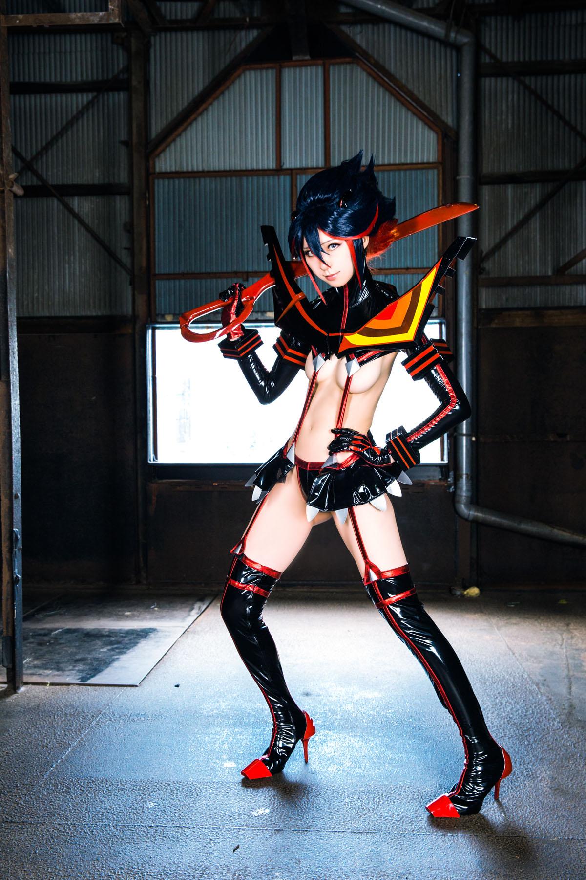 Kill la Kill Ryuuko Matoi anime cosplay by Mikehouse 0014