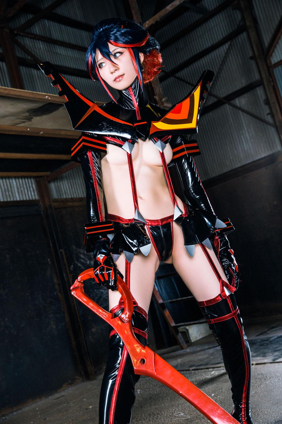 Kill la Kill Ryuuko Matoi anime cosplay by Mikehouse 0020
