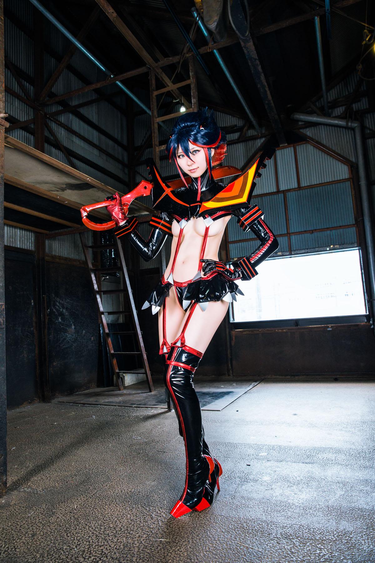 Kill la Kill Ryuuko Matoi anime cosplay by Mikehouse 0022