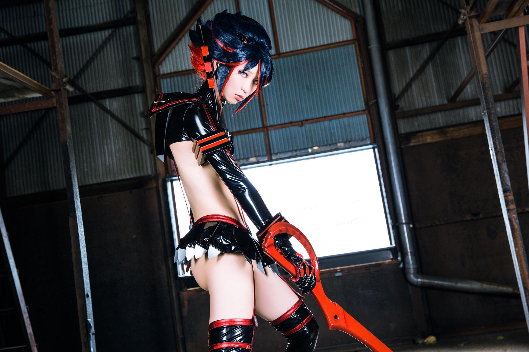 Kill la Kill Ryuuko Matoi anime cosplay by Mikehouse 0024