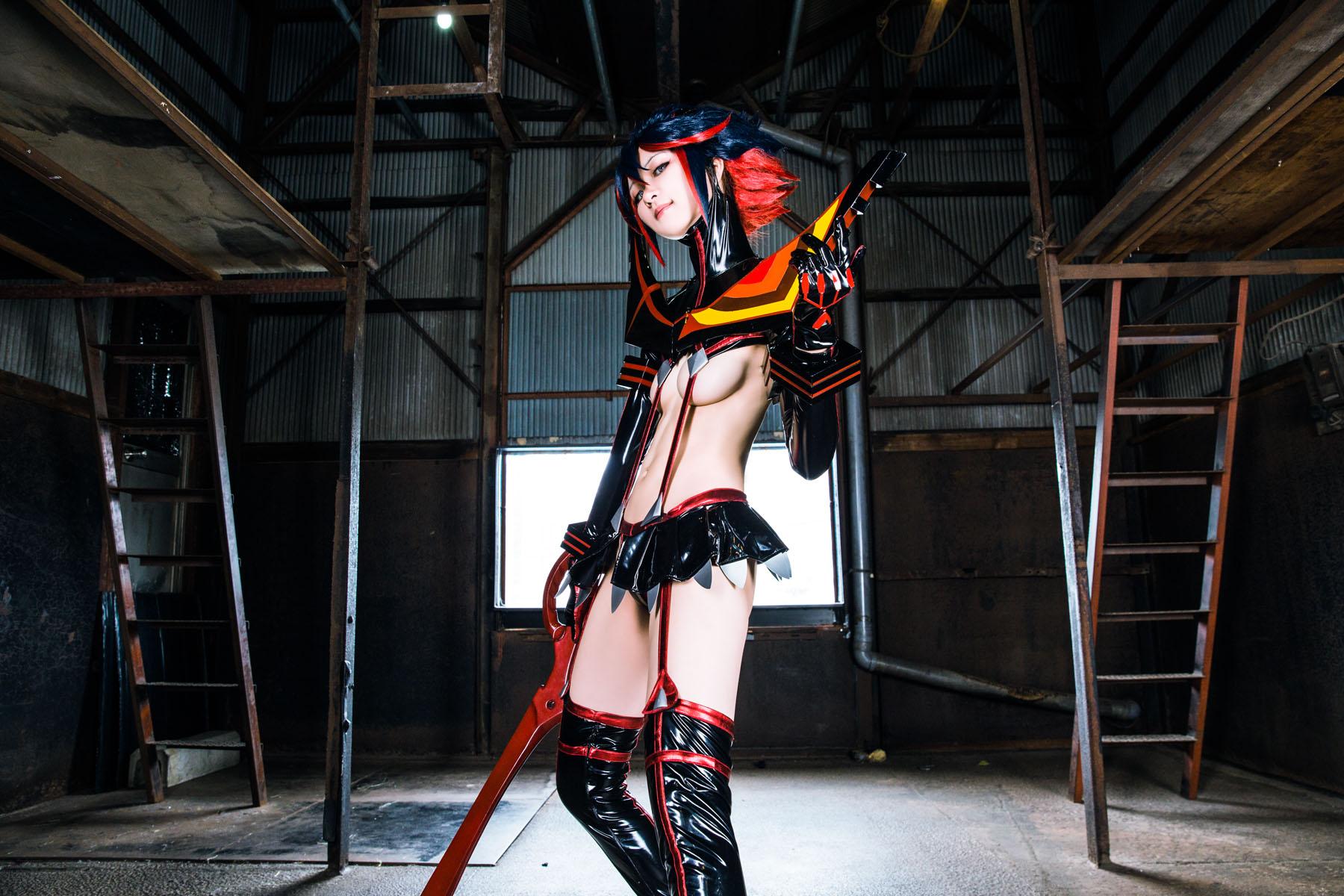 Kill la Kill Ryuuko Matoi anime cosplay by Mikehouse 0025