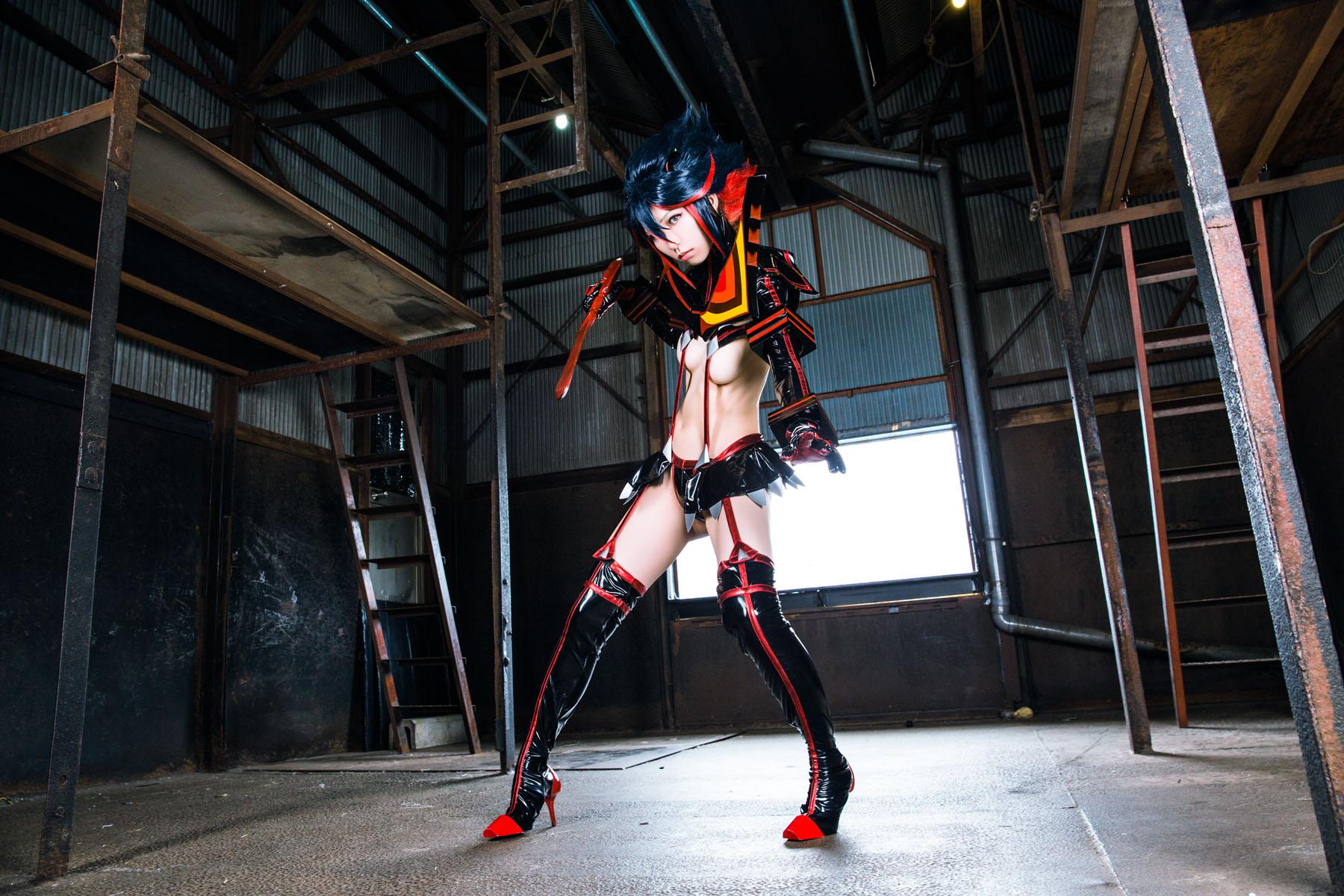 Kill la Kill Ryuuko Matoi anime cosplay by Mikehouse 0027