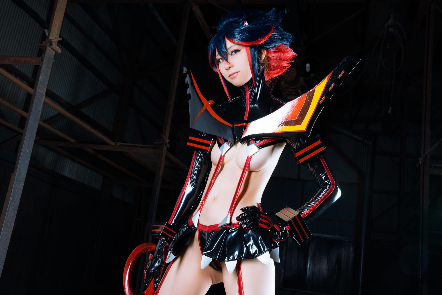 Kill la Kill Ryuuko Matoi anime cosplay by Mikehouse 0032