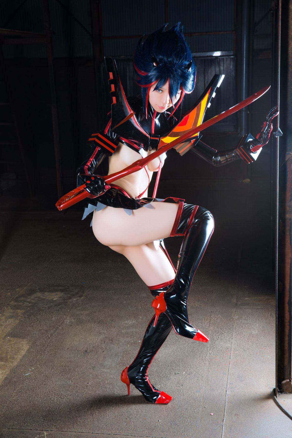 Kill la Kill Ryuuko Matoi anime cosplay by Mikehouse 0033