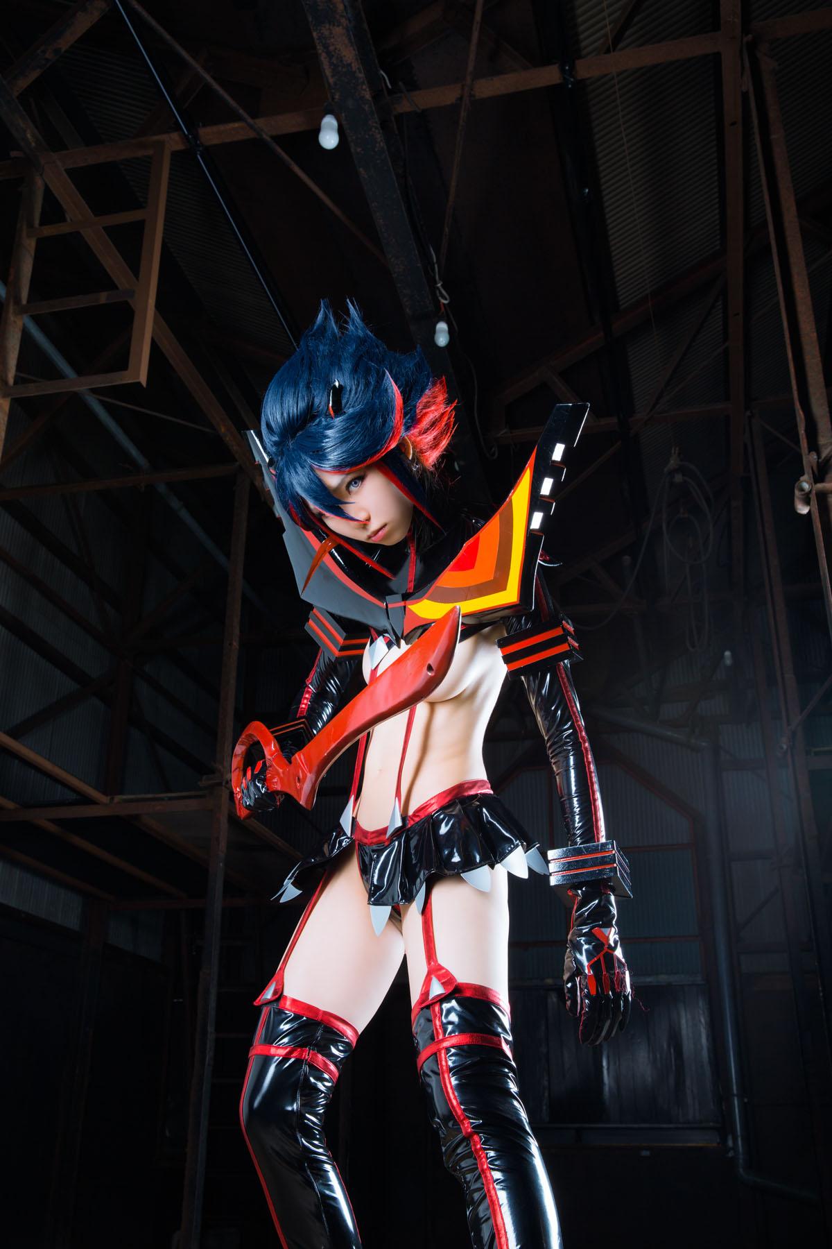 Kill la Kill Ryuuko Matoi anime cosplay by Mikehouse 0034