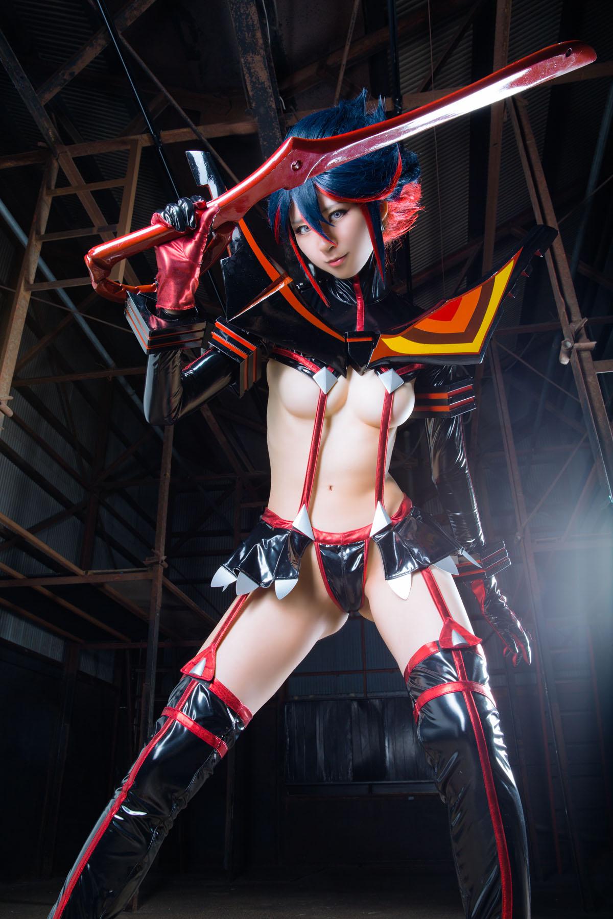 Kill la Kill Ryuuko Matoi anime cosplay by Mikehouse 0036