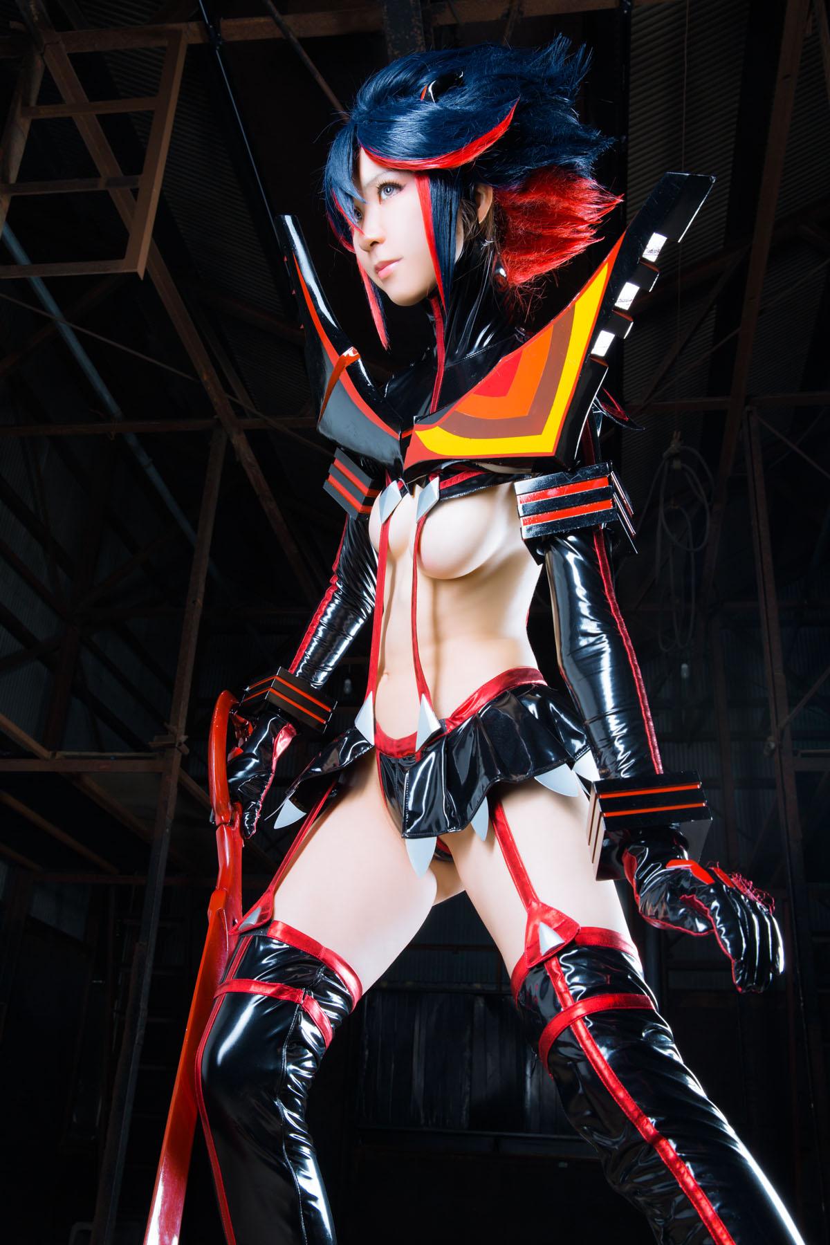 Kill la Kill Ryuuko Matoi anime cosplay by Mikehouse 0037