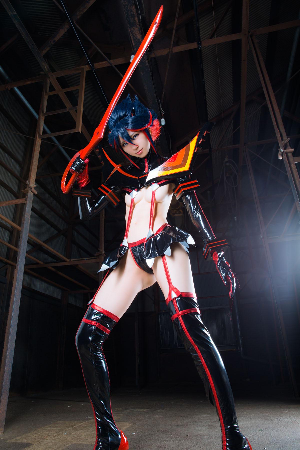 Kill la Kill Ryuuko Matoi anime cosplay by Mikehouse 0038