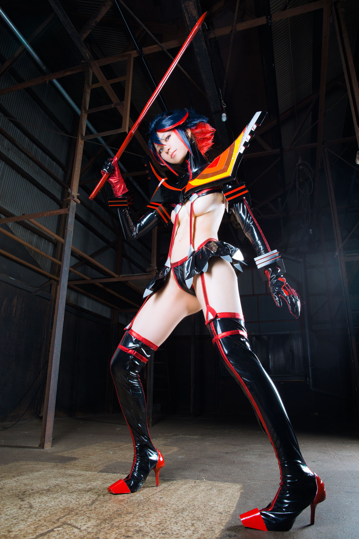 Kill la Kill Ryuuko Matoi anime cosplay by Mikehouse 0039