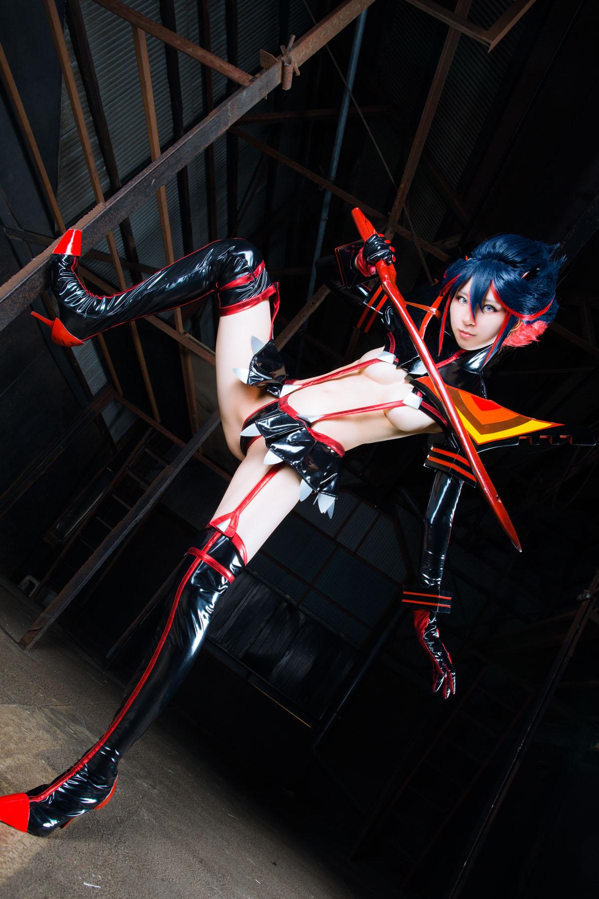 Kill la Kill Ryuuko Matoi anime cosplay by Mikehouse 0040
