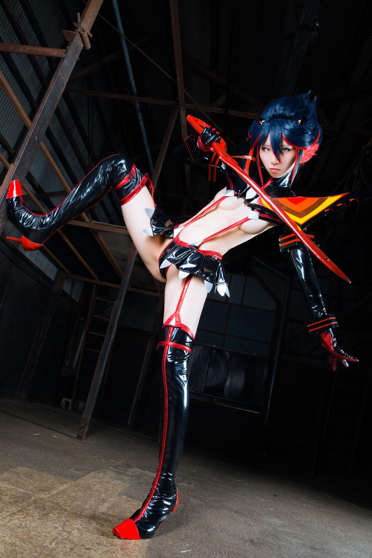 Kill la Kill Ryuuko Matoi anime cosplay by Mikehouse 0041