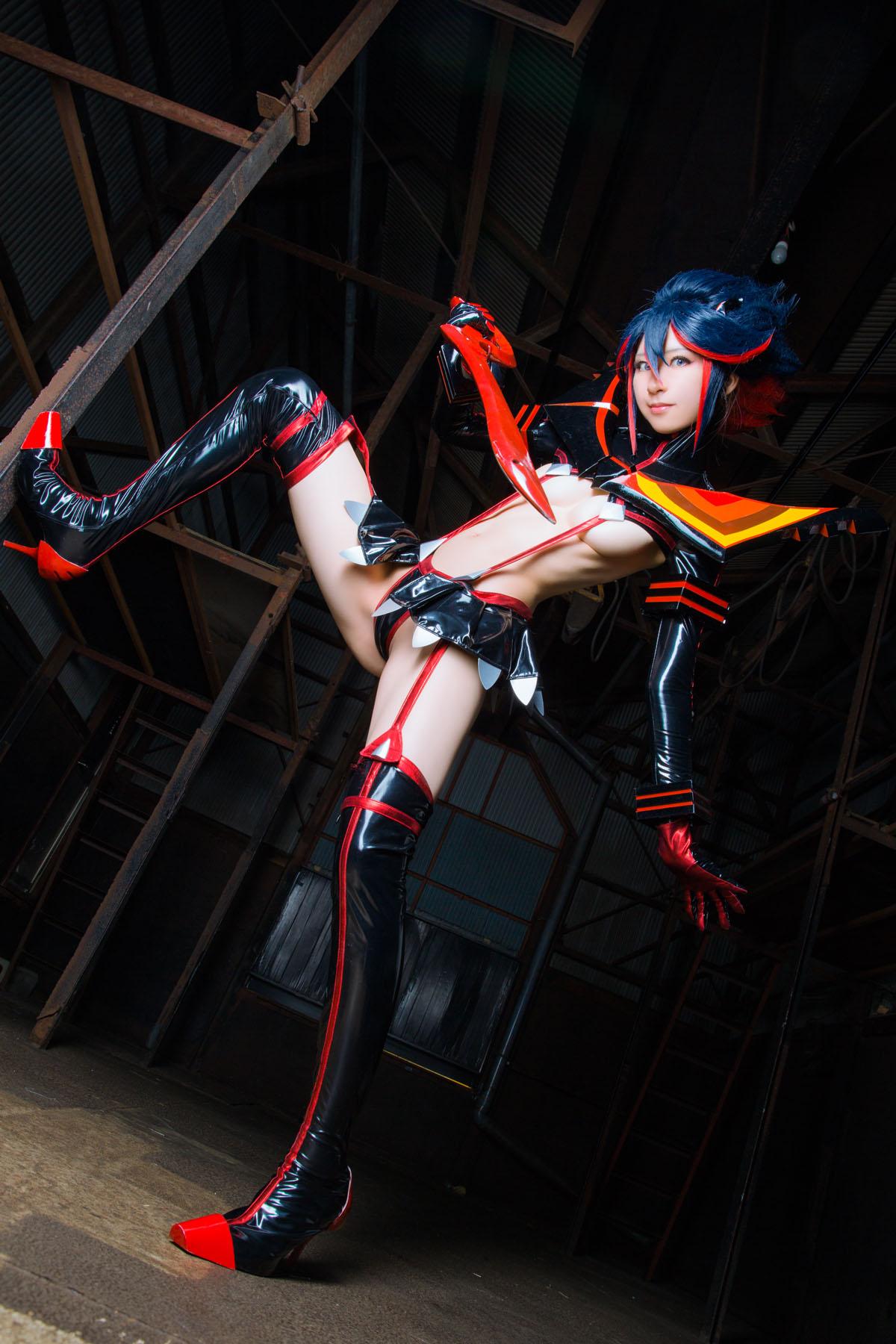 Kill la Kill Ryuuko Matoi anime cosplay by Mikehouse 0042