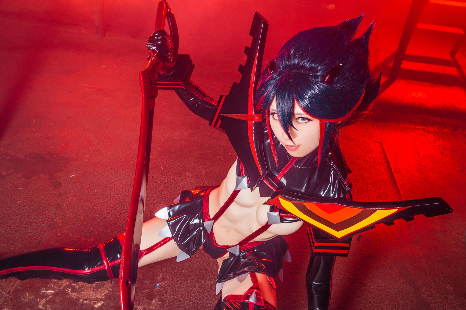 Kill la Kill Ryuuko Matoi anime cosplay by Mikehouse 0046