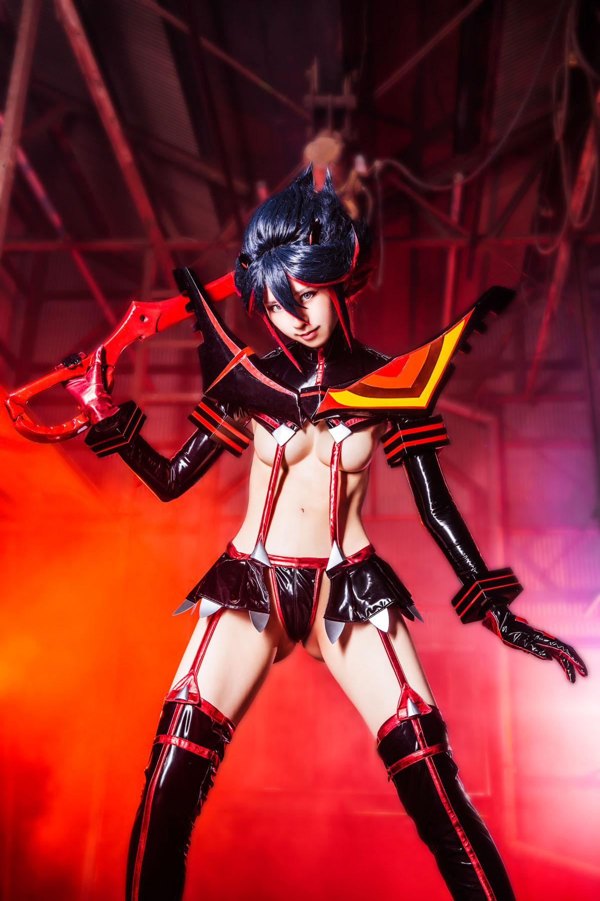Kill la Kill Ryuuko Matoi anime cosplay by Mikehouse 0047