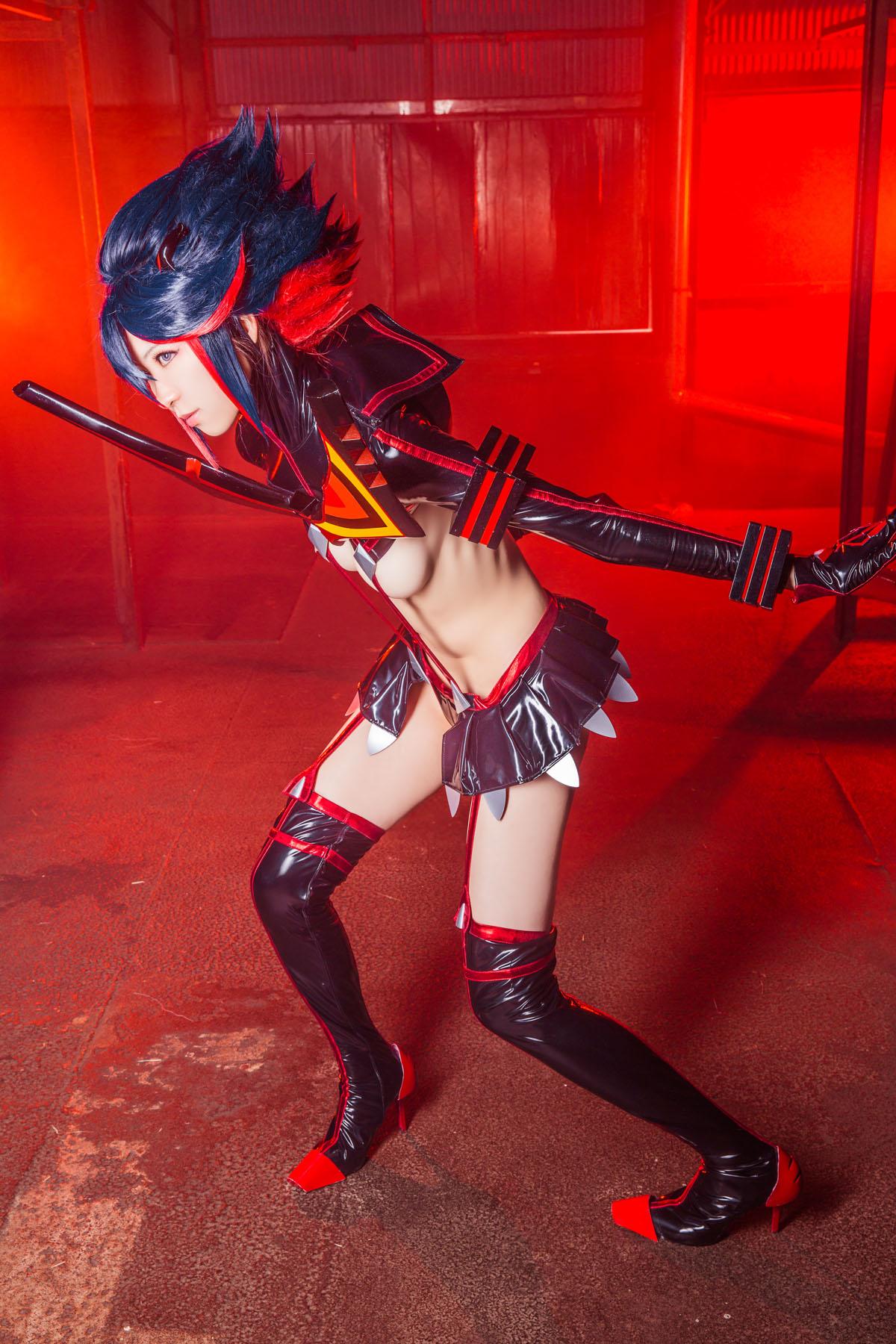 Kill la Kill Ryuuko Matoi anime cosplay by Mikehouse 0048