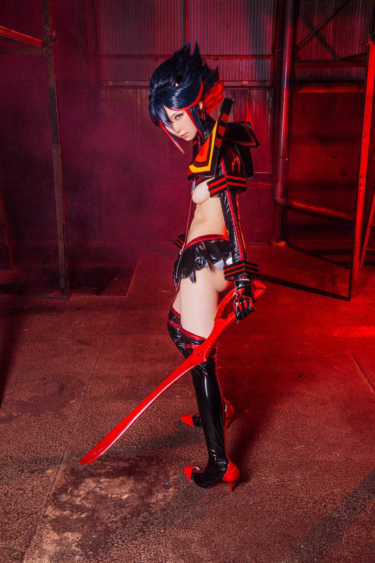 Kill la Kill Ryuuko Matoi anime cosplay by Mikehouse 0049