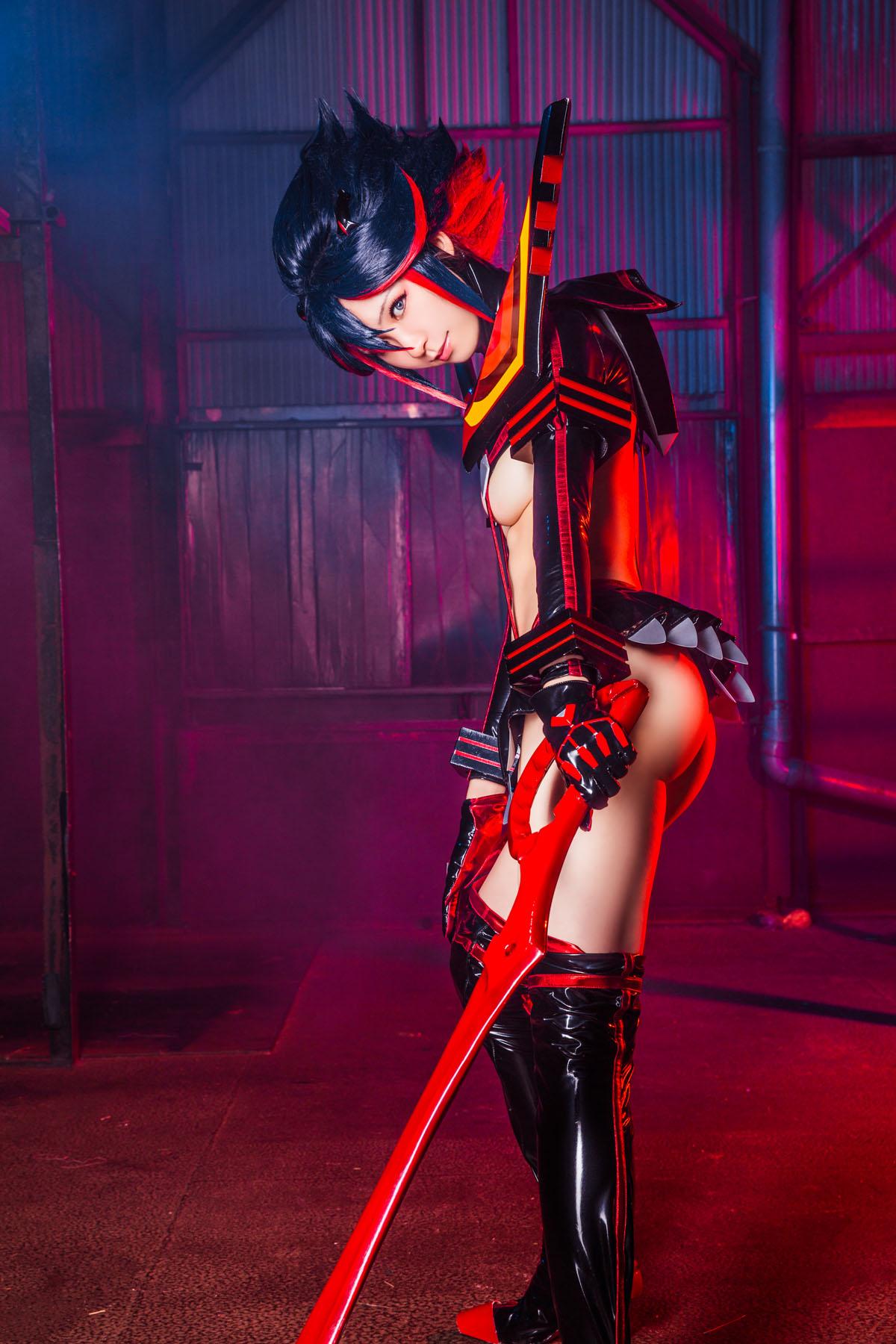 Kill la Kill Ryuuko Matoi anime cosplay by Mikehouse 0050