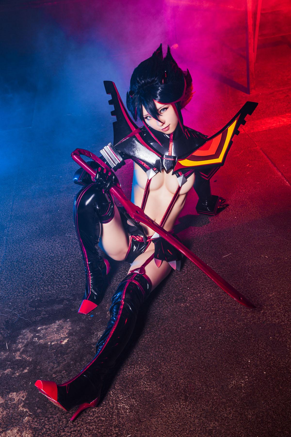 Kill la Kill Ryuuko Matoi anime cosplay by Mikehouse 0051